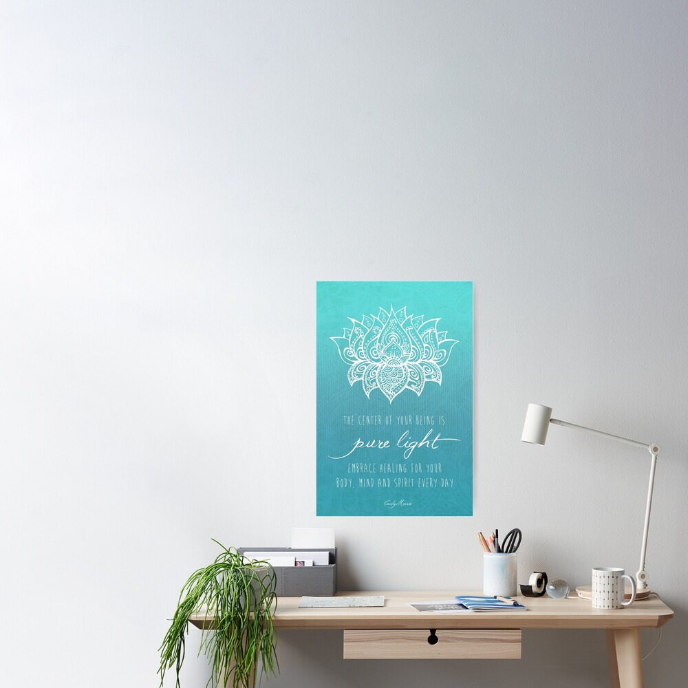Your Pure Light Poster