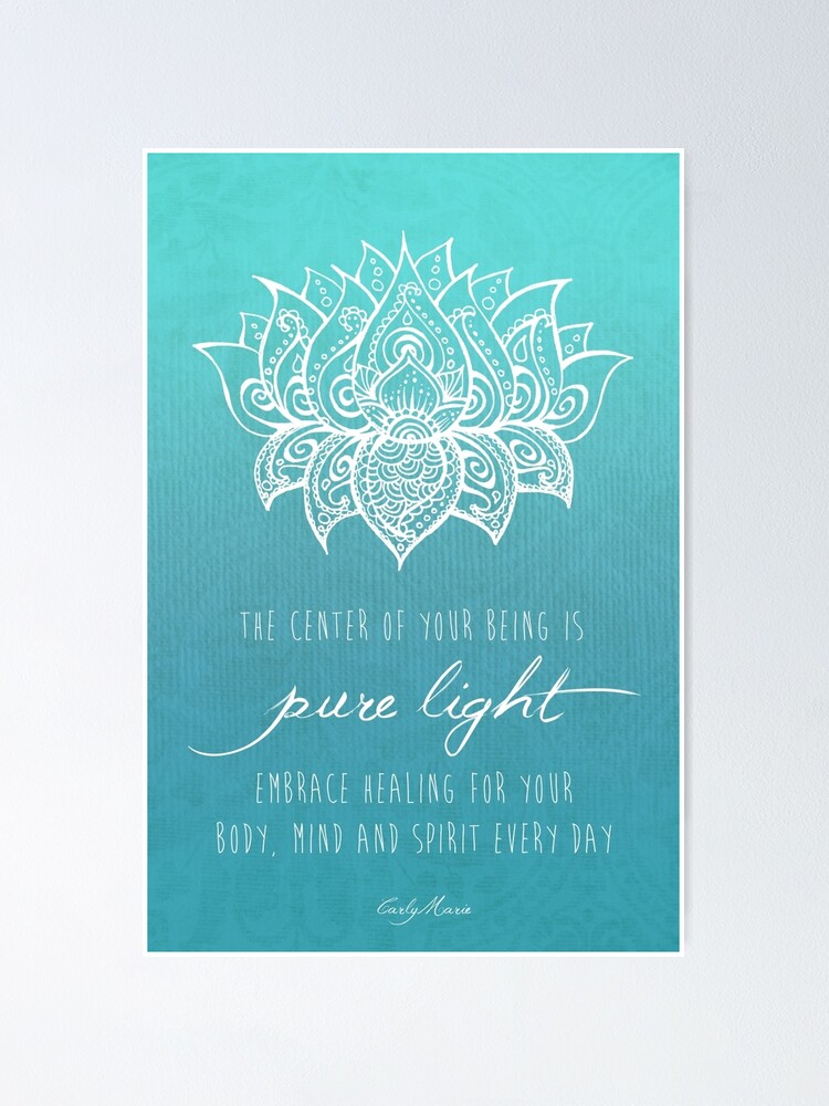 Alternate view of Your Pure Light Poster