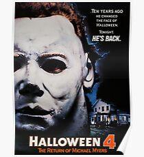 Halloween 4 Michael Myers  Poster