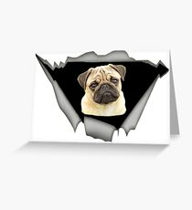 Best Gift For Pug Lovers Greeting Card