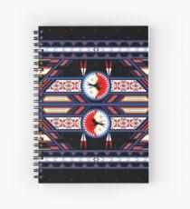 War Horse Shield Spiral Notebook