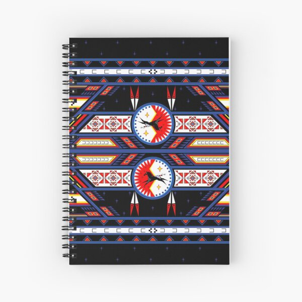 War Horse Shield Spiral Notebook
