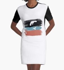 Guns and Peace - T-Shirt Graphic T-Shirt Dress
