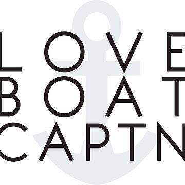 Love Boat Captain by cajoneswear