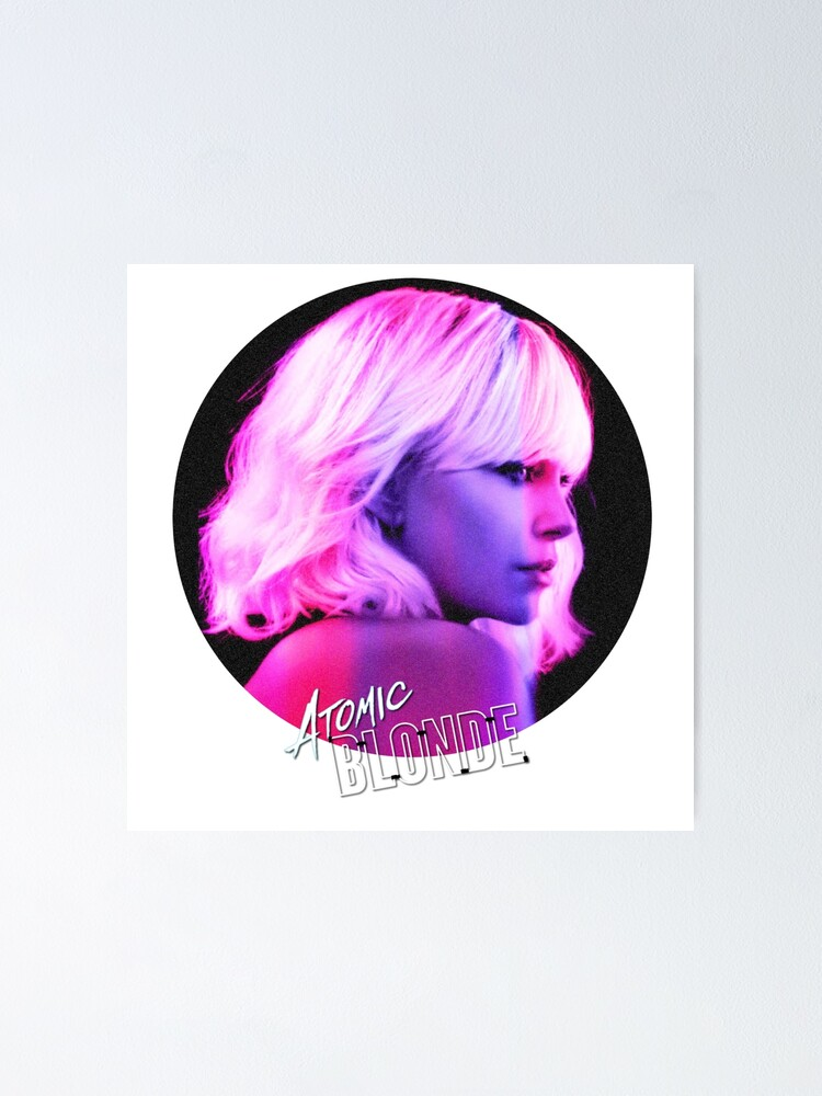 Atomic Blonde Charlize Theron James McAvoy  Movie Canvas Posters Art Prints