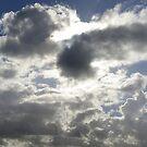 Every cloud............. by Maureen Brittain