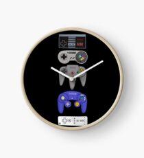 Nintendo Controller Sticker Set Clock
