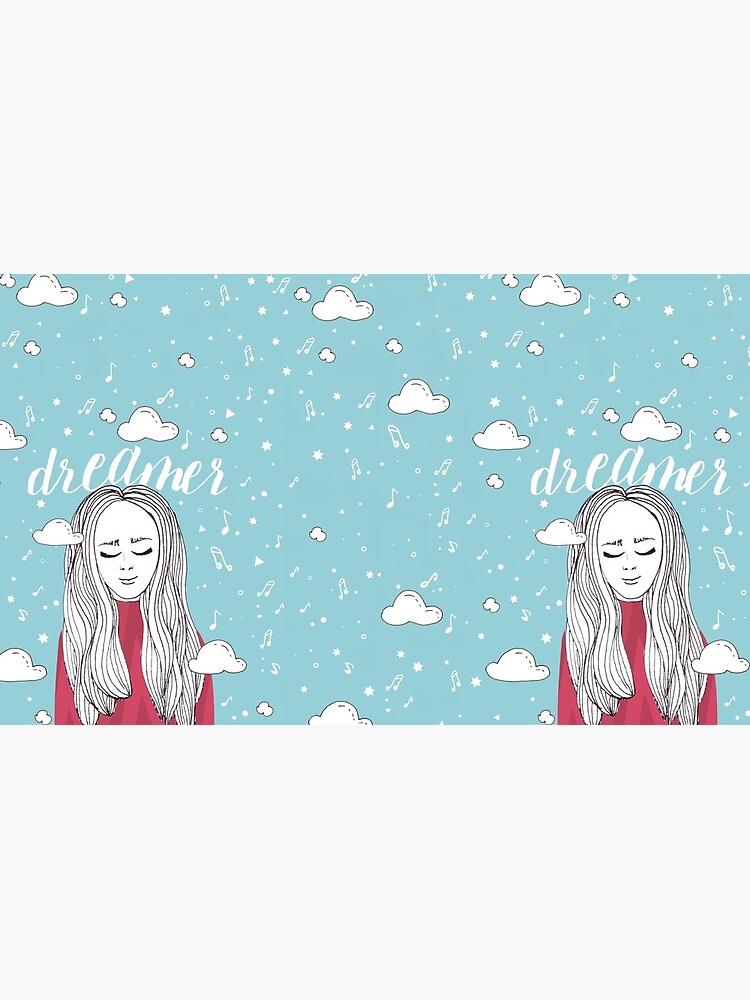 Dreamer Girl - Illustration by mirunasfia