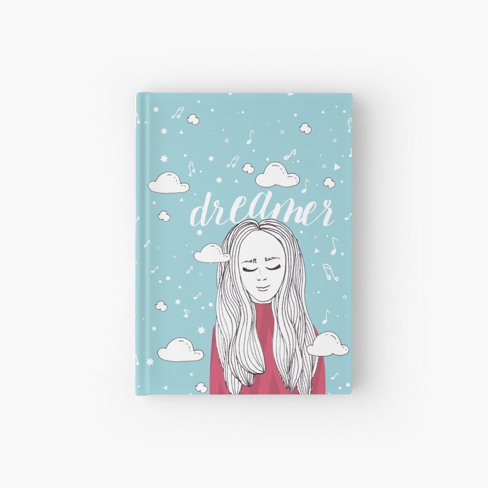 Dreamer Girl - Illustration Hardcover Journal
