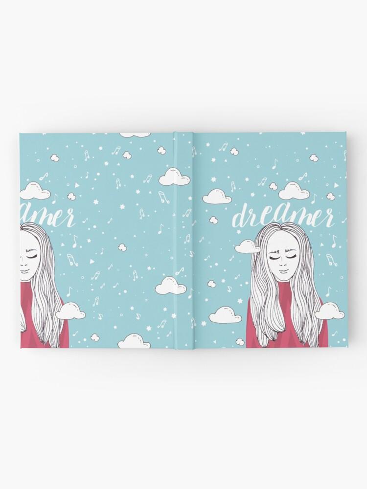 Alternate view of Dreamer Girl - Illustration Hardcover Journal