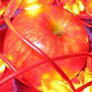 lit apple by Yvonne Carsley