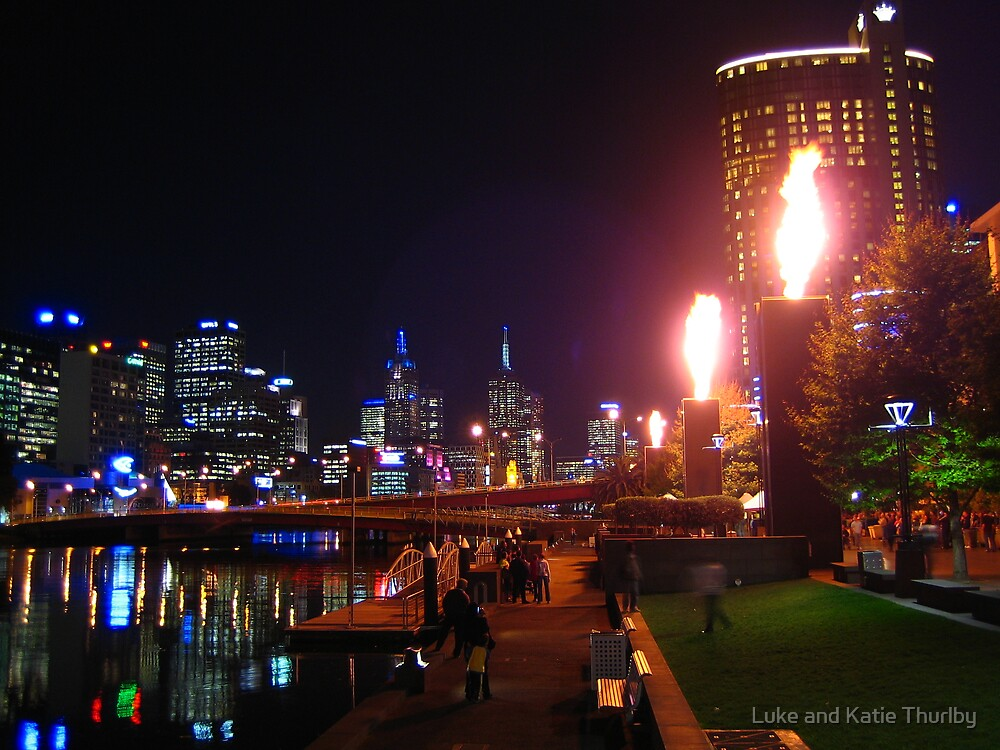Melbourne and the South Bank by Luke and Katie Thurlby