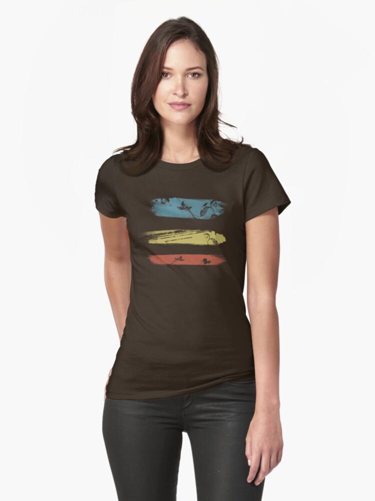 Enchanting Nature Cool Grunge Vintage T-Shirt by Denis Marsili
