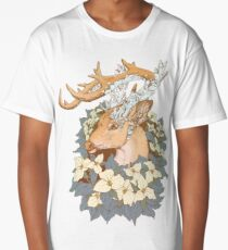 Non-typical Blue Quartz Buck Long T-Shirt