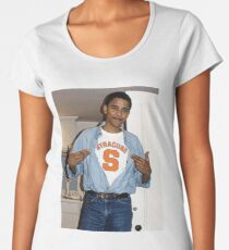 Syracuse Obama Women's Premium T-Shirt