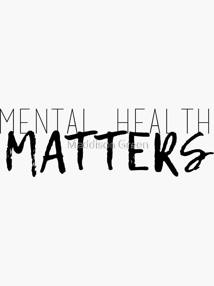 Asuntos de salud mental de maddisonegreen