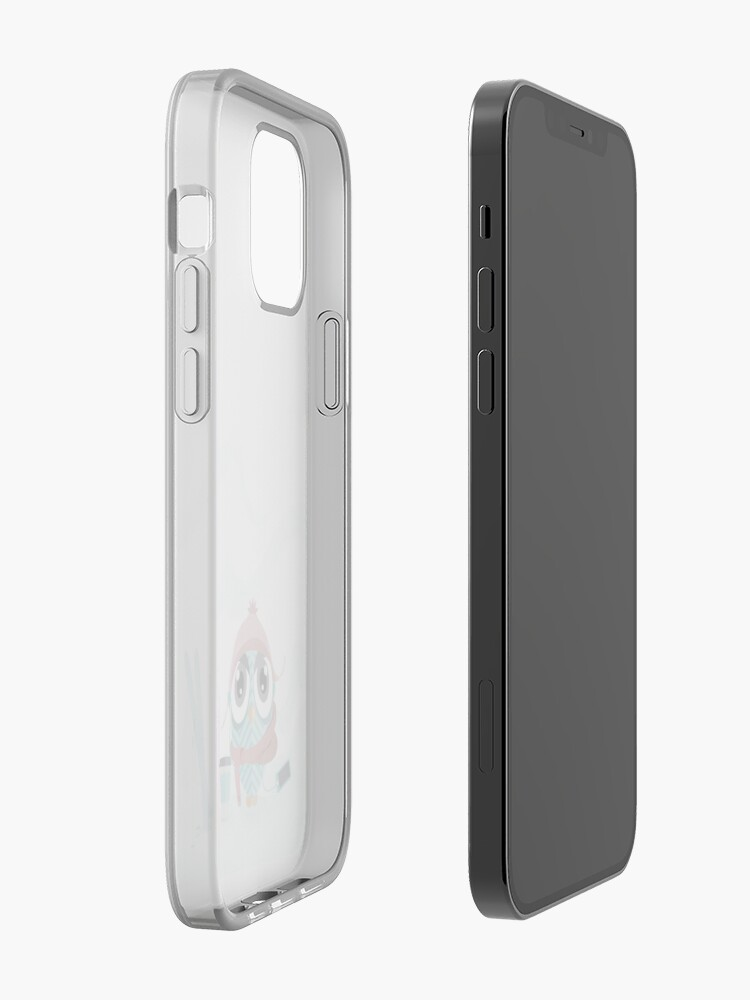 Alternate view of Owl gone skiing iPhone Case & Cover