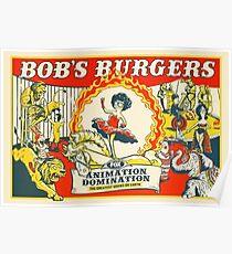 Bob's Burgers Circus Poster