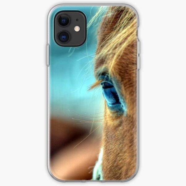 Horse Eye iPhone Soft Case