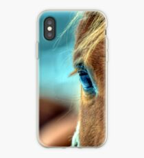Horse Eye iPhone Case