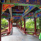 China. Fengdu Ghost City. Covered Walkway. by vadim19