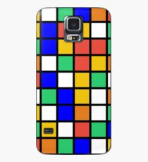 Cubies Background Case/Skin for Samsung Galaxy