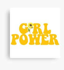 GIRL POWER - Style 2  Canvas Print