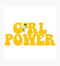 GIRL POWER - Style 2  Photographic Print