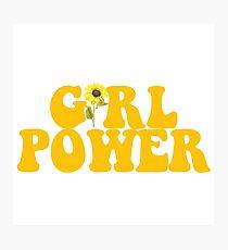 GIRL POWER - Style 2  Photographic Print