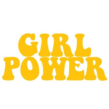 GIRL POWER - Style 3 de maddisonegreen