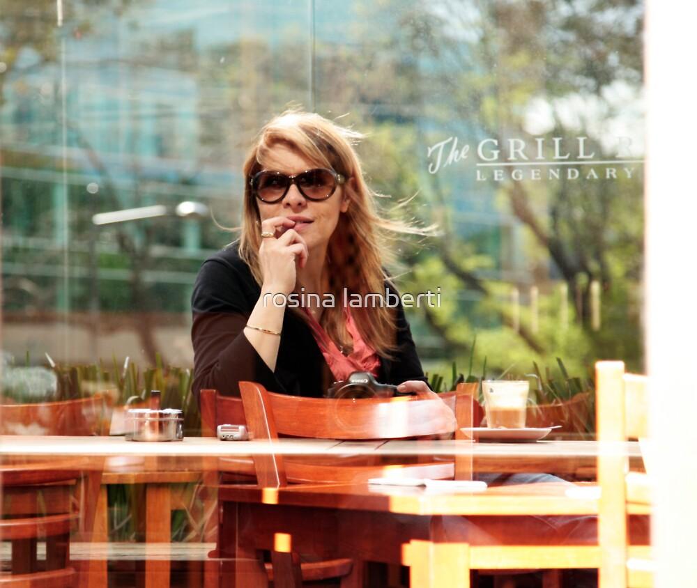 Self Portrait-Rosina Lamberti by Rosina  Lamberti