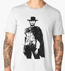 Clint Eastwood The Good, The Bad and The Ugly Men's Premium T-Shirt