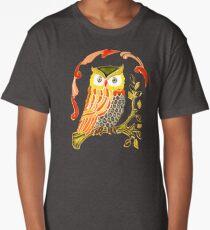 Lovely Cute Owl Long T-Shirt