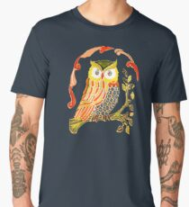 Lovely Cute Owl Men's Premium T-Shirt