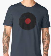 Grunge Vinyl Record Men's Premium T-Shirt