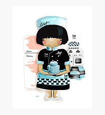 The Little Chef Photographic Print