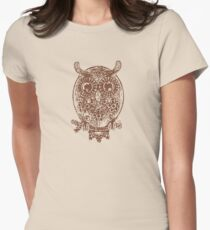 Cute Owl Women's Fitted T-Shirt