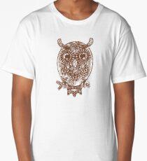 Cute Owl Long T-Shirt