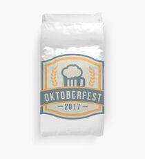OKTOBERFEST 2017 Beer Drinking Party Theme Design Duvet Cover