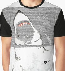 Save the Great White Shark Graphic T-Shirt