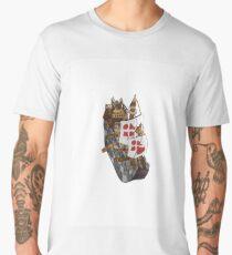 Castle Ship Men's Premium T-Shirt