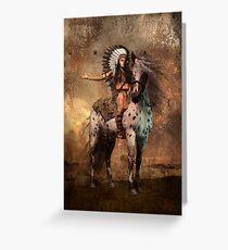 Great Spirit Chief Greeting Card