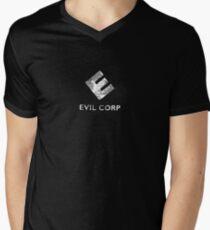 Evil Corp Men's V-Neck T-Shirt