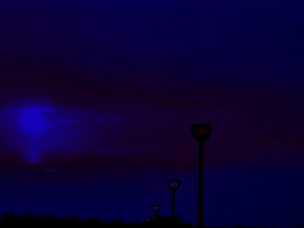 SUNSET BLUE by Spiritinme
