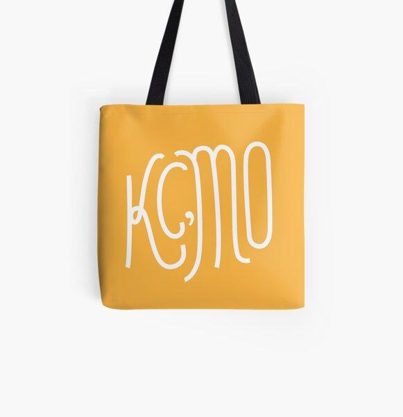Kansas City Series: Yellow All Over Print Tote Bag