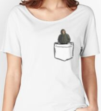 pocket sized sam  Women's Relaxed Fit T-Shirt