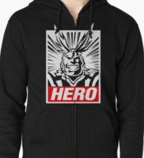 Boku No Hero Academia - All Might Zipped Hoodie