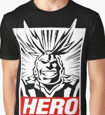 Boku No Hero Academia - All Might Graphic T-Shirt