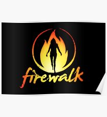 FIREWALK Band logo - Life is strange Before the storm  Poster