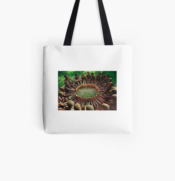 Iconic Circle Game Tote Bag All Over Print Tote Bag